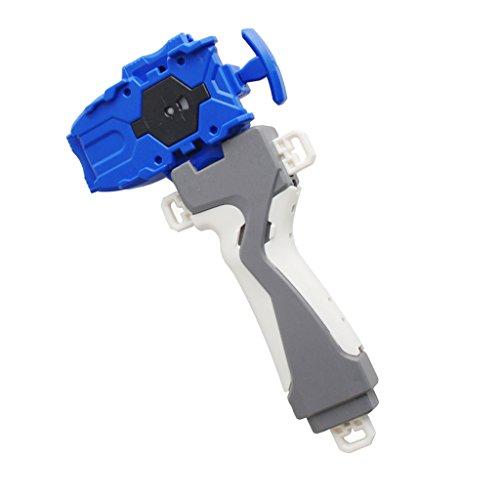 Homyl Kampfkreisel 3053 Serie Zubehör - Kunststoff String Launcher mit Griff Spielzeugset - Blau