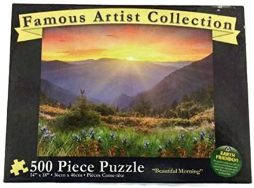 Famous Artist Collection Beautiful Morning - 500 Piece Puzzle by Karmin International