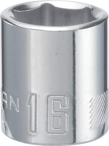 CRAFTSMAN Shallow Socket, Metric, 3/8-Inch Drive, 16mm, 6-Point (CMMT43570)