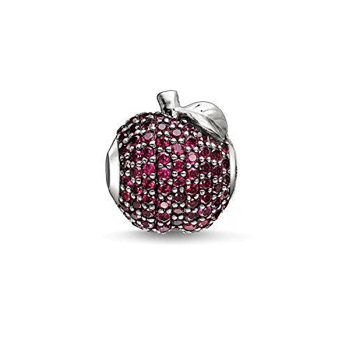 Thomas Sabo – Thomas Block Apfel Bead Silber mit synthetischen Korund K0188 – 639-10