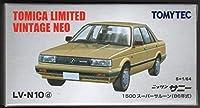 TOMICA LIMITED VINTAGE NEO/トミカ リミテッド ヴィンテージ ネオ LV-N10d ニッサン サニー 1500 スーパーサルーン 金
