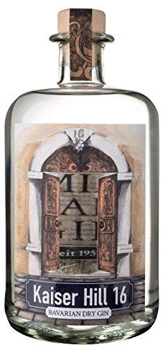 Kaiser Hill 16 Bavarian Dry Gin 0,7l Flasche Original von der Steinwälder Hausbrennerei Schraml