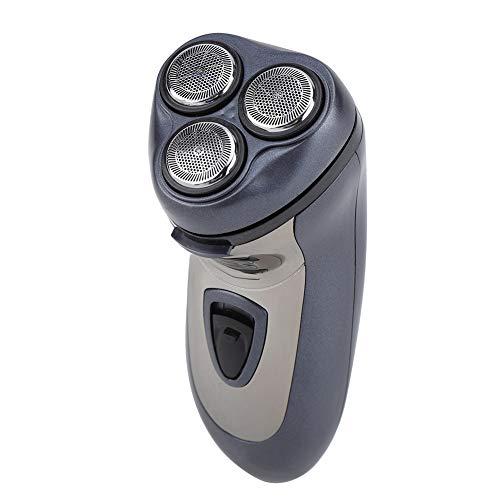 Mini tondeuses à cheveux, rasoir électrique avec tondeuse de précision, rasoir à barbe rechargeable lavable flottant intelligent