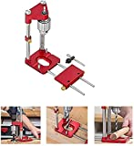The Best Woodworking Drill Locator, Woodpeckers Auto-line Drill Guide, Adjustable Punch Locator Drill Template Guide, Woodworking Drilling Locator Tool Kit