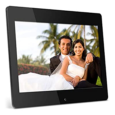 Aluratek High Resolution ADMPF114F 14 inch Digital Photo Frame w/4GB Built-in Memory and Remote(1600 x 900 Resolution)