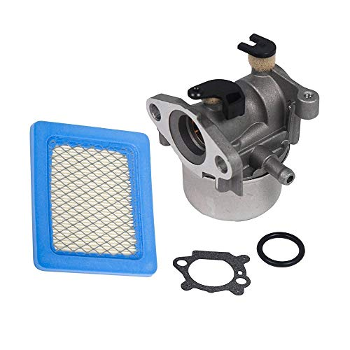 SaferCCTV Carburetor Replacement for 790845 799871 799866 796707 794304 Engine 4 Cycle Lawn Mower with 491588 Air Filter
