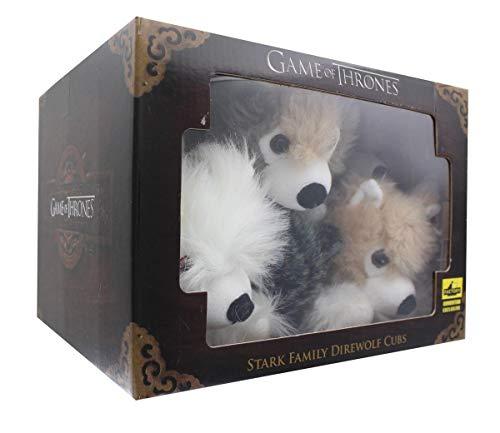 Game Of Thrones Exclusive 6-Inch Plush Direwolf Prone Cub 6-