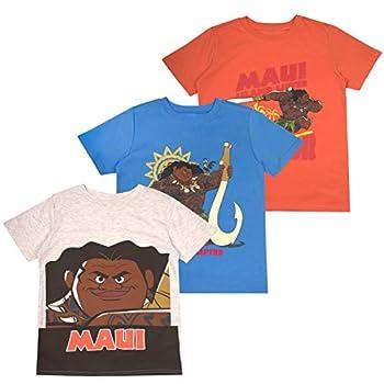 Disney Moana Toddler Boys  T-Shirt  Pack of 3  3T Orange