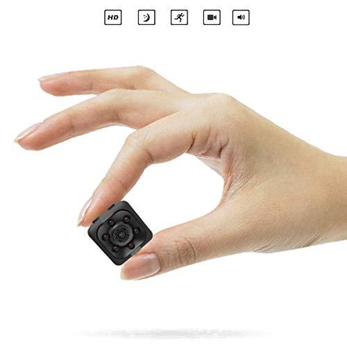 Camara espia Zimax es de las camaras espias ocultas mas vendidas 1080P HD Cámara de Vigilancia Portátil Secreta y Compacta con Detector de Movimiento IR y Visión Nocturna, mini Cámara de Seguridad