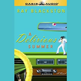 A Delirious Summer audiobook cover art