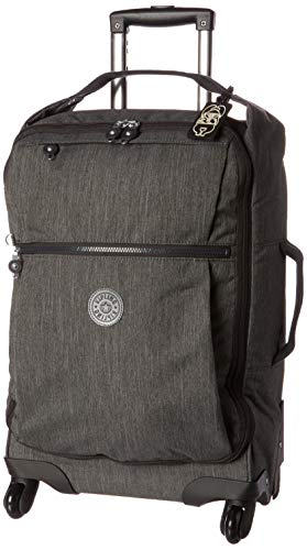 Kipling Darcey Softside Spinner Wheel Luggage, Black Peppery
