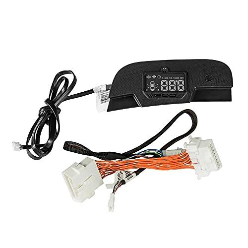Coche Panel De Control Central De Instrumentos Hud Head-Up Display para Mercedes Smart 453 Fortwo Forfour ModificacióN del Coche Accesorios