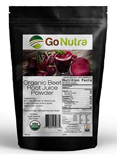 Beet Root Juice Powder Organic 8 oz. - Made in USA...