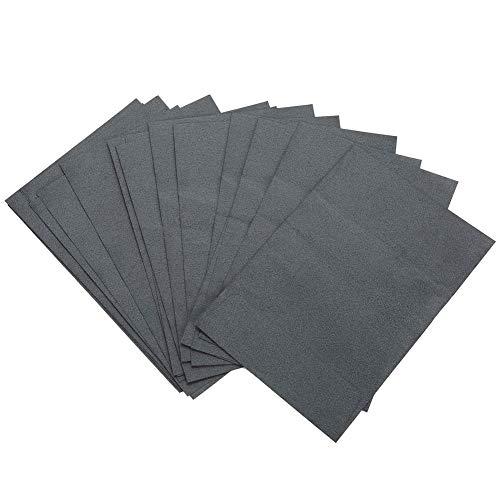 Papel secante, secante ligero para hombres sin polvo Hojas secantes flexibles seguras, sin escoria para hombres para la cara