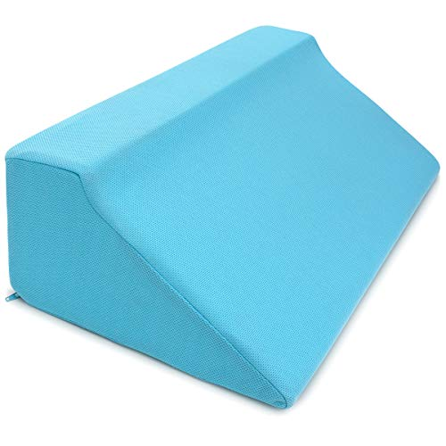 Zenesse Health Foam Wedges for Positioning - Superior Side Sleep Support Pillow for Pressure Sores, Pregnancy & The Disabled. Comfortable No-Crush Back Support Wedge for Bed. Best for Side Sleepers.