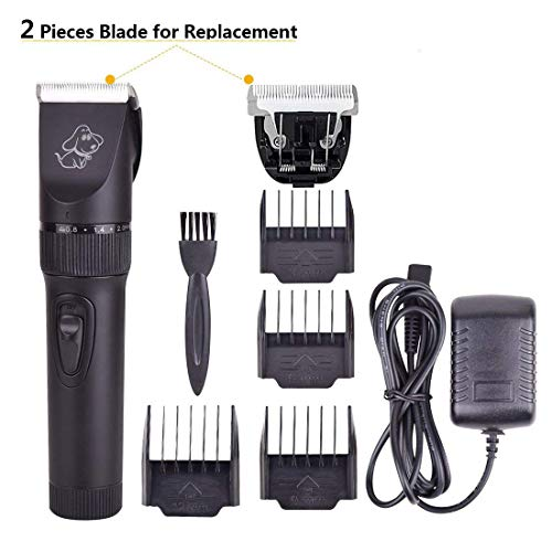 PERSUPER Upgrade Pet Rechargeable Hair Electric Clippers