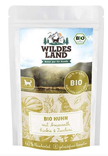 Wildes Land Hundefutte Nassfutter Bio Huhn (1 x 125 g)