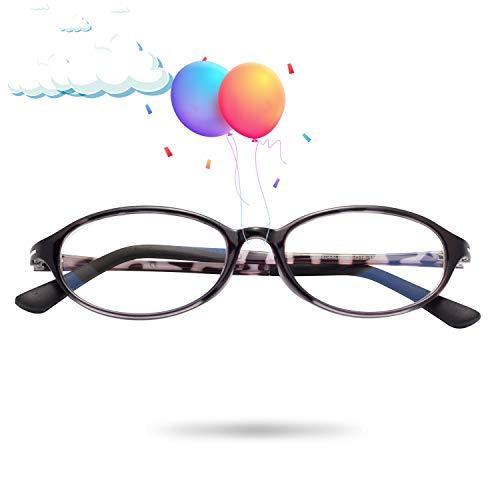 JIMMY ORANGE老眼鏡 ブルーライトカットメガネ 軽い メンズ レディース おしゃれ パソコン用 PCメガネ 携帯用 リーディンググラス AM8044 オーバル パープル, 2.00