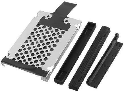 eDealMax Tornillos Disco Duro del controlador cubierta rieles de goma Caddie Para IBM Thinkpad X200