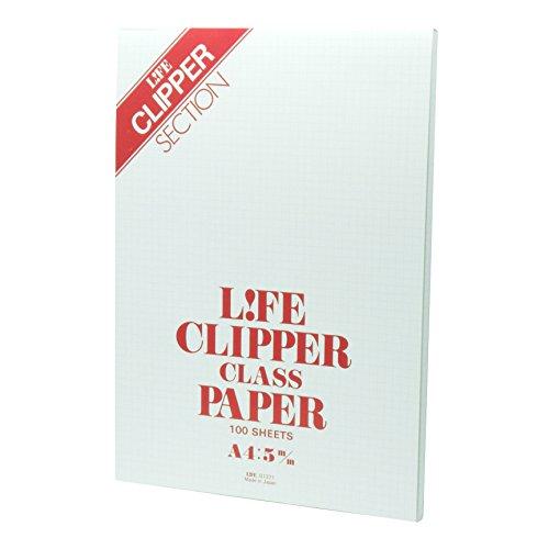 ライフ レポート用紙 クリッパー A4 G1371