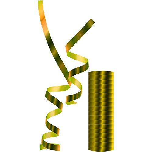 Luftschlangen Metallic