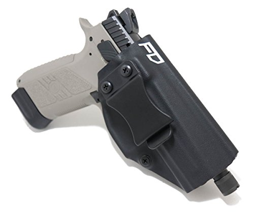 Fierce Defender IWB (Inside Waistband) Kydex Holster FN FNS 9 Compact Winter Warrior Series (Black)