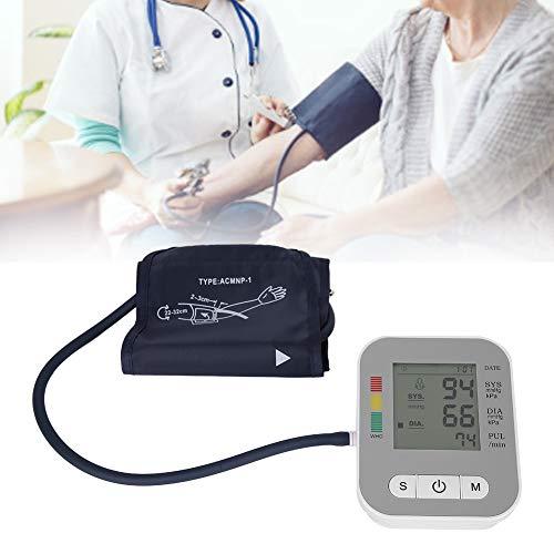 Brrnoo Blutdruckmessgerät, 2 Benutzer 120 Speicher Digitales Oberarm-Blutdruckmessgerät mit Voice Broadcast-Hintergrundbeleuchtung, professionelles Blutdruckmessgerät für zu Hause
