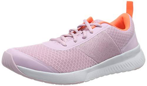 Under Armour Damen UA W Aura Trainer Hallenschuhe, Pink (Pink Fog/Halo Gray/Peach Plasma (600) 600), 43 EU