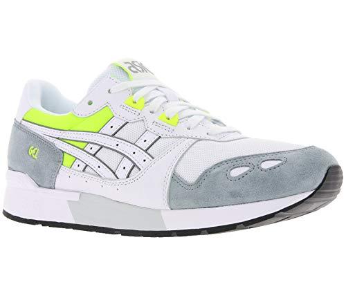ASICS Sneaker Schuhe modische Turnschuhe Gel-Lyte Freizeitschuhe Weiß/Grau, Größenauswahl:37.5