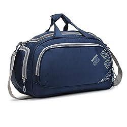 NOVEX Polyester 55 cms Travel Duffle (Novex_TB120_Blue),Novex,NXTB120BL1