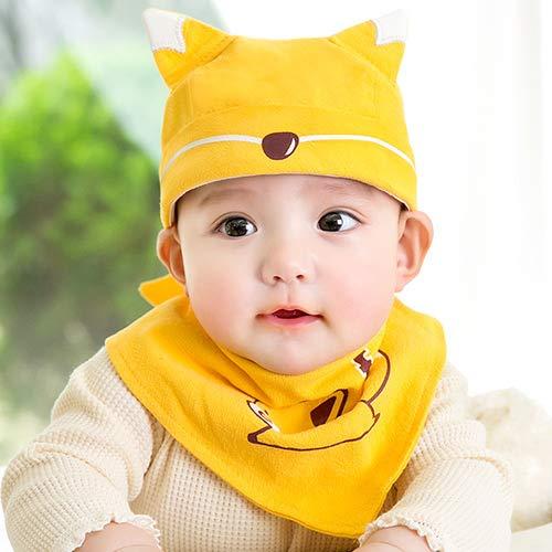 WOAIMAOZI Chapeau Bébé Printemps Et Été Section Mince Bébé Pirate Chapeau Halogène Porte Chapeau Fontanelle Chapeau Coton Turban Chapeau pour Enfants