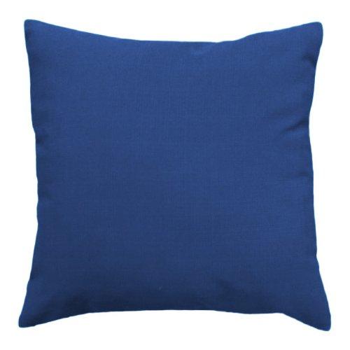 Gardenista Cojín de Muebles para Jardín | Cojines Silla Jardin | Relleno de Miga de Espuma para Uso Externo | Resistente al Agua | 45 x 45 cm (Azul)