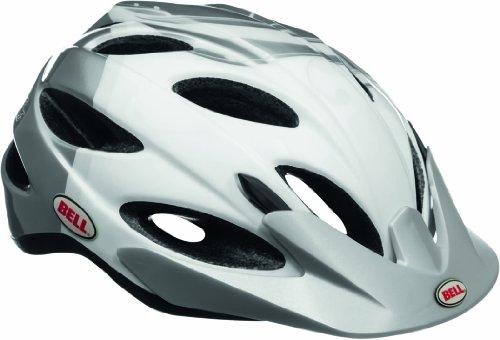 Bell Damen Fahrradhelm Strut, White/Silver Cali, 50-57 cm, 210066009