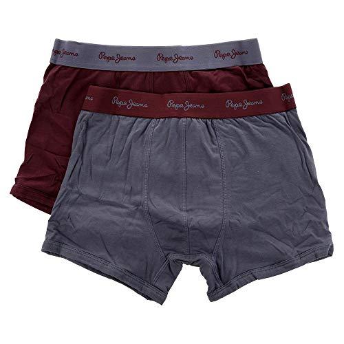 Pepe Jeans 2tlg. Set Boxershorts Camdem Bordeaux S