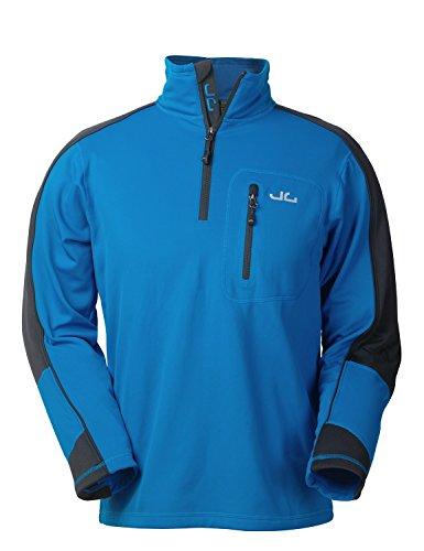 Jeff Green Herren Softshell Pullover Gent - Funktions- und Outdoor Pullover mit Thermofunktion, Größe - Herren:XXL, Farbe:Imperial Blue
