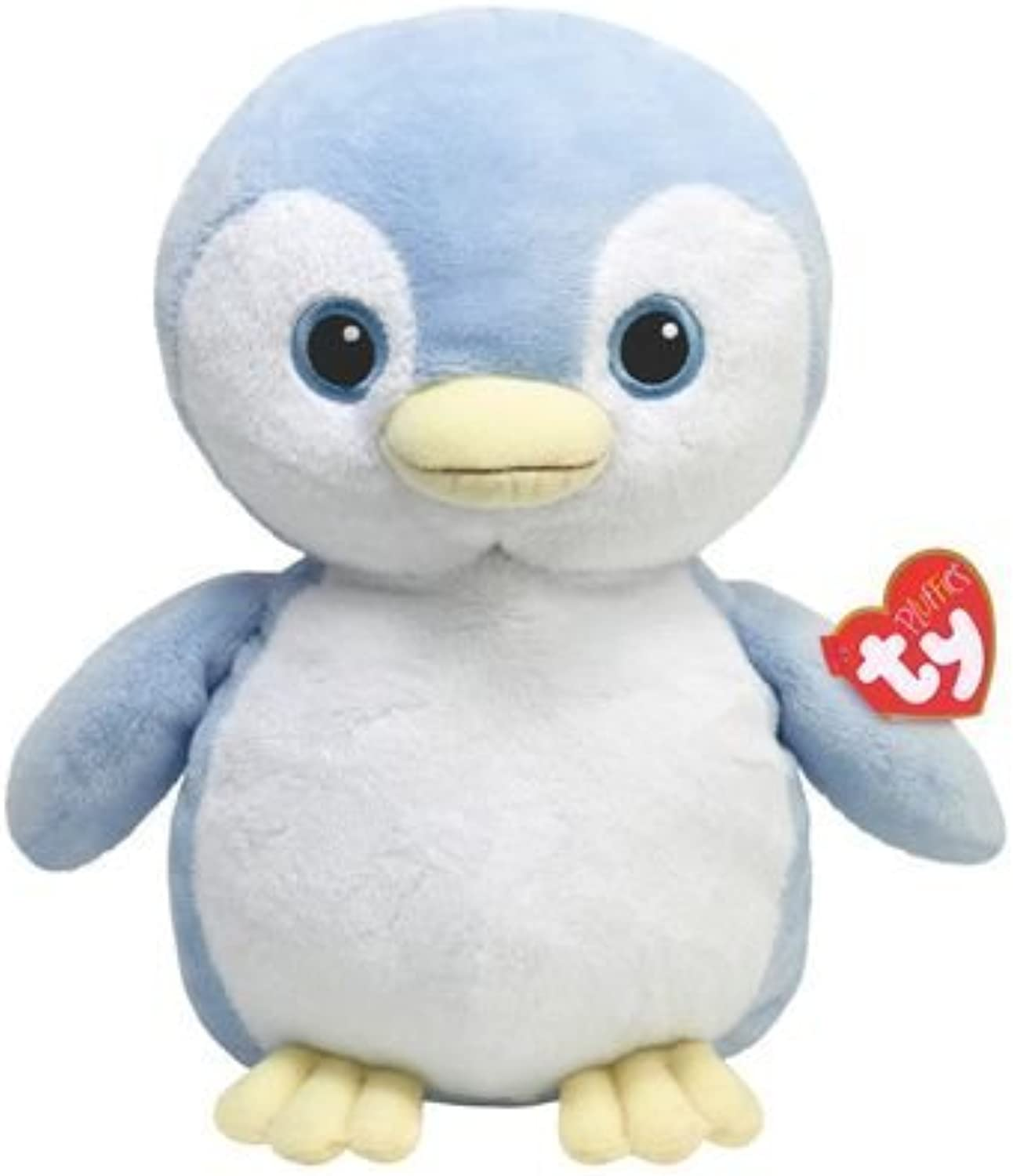 Ty Pluffies Petey - bluee Penguin by Ty