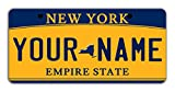 BleuReign Personalize Your Own New York State Bicycle Bike Stroller Children's Toy Car 3'x6' License Plate Tag