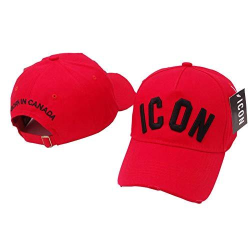 SSSGHH Basecap Herren Stickereibuchstaben Icon Baseballmützen Hysteresensport-Hip Hop-Kappe Für Mann-Frauen