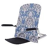 HFAFRZ Reposacabezas portátil ajustable para sentarse, respaldo cama de tela transpirable con apoyabrazos humanizado...