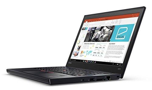 Lenovo ThinkPad X270 12.5-inch Business Laptop Intel Core i5-6300U 2.4 GHz / 3.0 GHz Turbo Processor, 8GB RAM, 256GB SSD, HD Display (1366 x 768 Resolution), Light Weight, Windows 10 Pro - 20K5S0220T