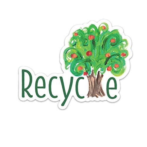 Cool Sticker For Cars, Trucks, Water Bottle, Fridge, Laptops Recycle Stickers (3 Pcs/Pack)
