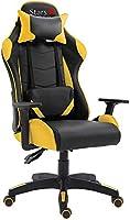 Mahmayi B88 High Back Ergonomic Swivel, Tilt Tension Adjustment, Adjustable Armrest & Lumbar Pillow Video Gaming Chair...