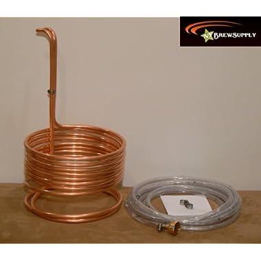 Home Brew Stuff WC-25 HomeBrewStuff Super Efficient 3/8 x 25' Copper Wort Chiller