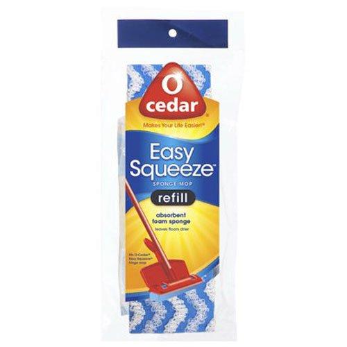 O-Cedar Cell Sponge Mop Refill, Assorted