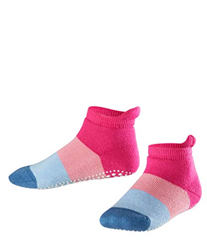 FALKE Unisex Kinder Socken, Colour Block Catspads K CP-12022, Rosa (Gloss 8550), 35-38