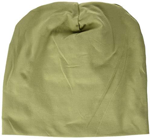 Fred's World by Green Cotton Baby Jungen Alfa Beanie Hat, Green Moss, 92/98