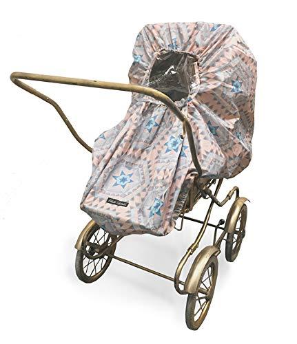 Elodie Details Universal Regenschutz für Kinderwagen/Buggy mit Sichtfenster - Bedouin stories
