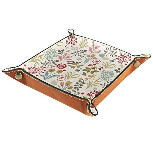 Schumacher Cube Aufbewahrungsbox, Schlüssel, Uhr, Nachttisch, Organizer, Schreibtisch-Aufbewahrungsbox, 20,5 x 20,5 cm, Mehrfarbig01, 20.5x20.5cm
