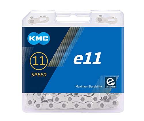 KMC Unisex– Erwachsene e11 Silver E-Bike 11-Fach Kette 1/2