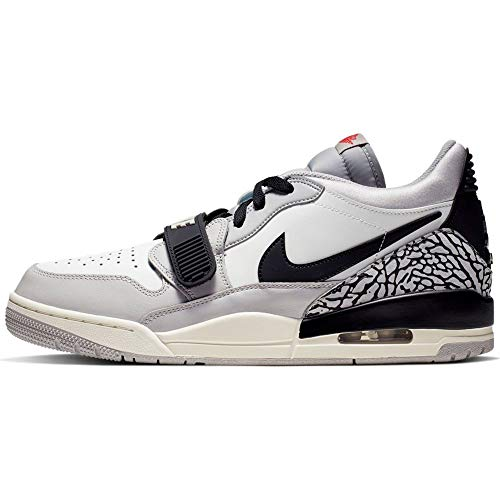 Nike Air Jordan Legacy 312 Low , Summit White/Fire Red, 12
